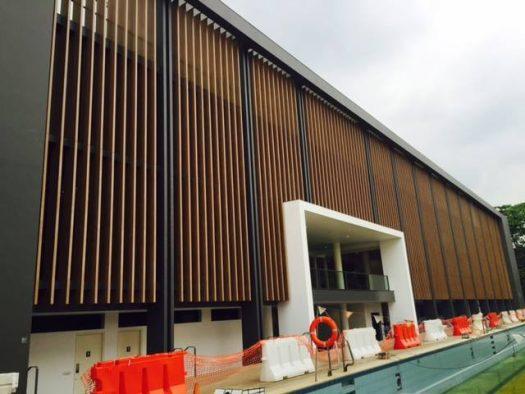 Hwa Chong Internation School , Singapore-compositewood-biowood