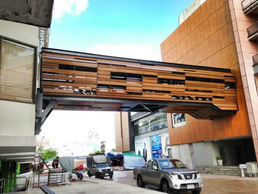 Sky Walk Project at Thailand-compositewood-biowood